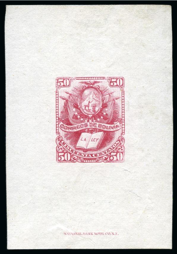 Lot 53020 - bolivia  -  David Feldman S.A. Overseas & Switzerland | Autumn Auction Series day 5