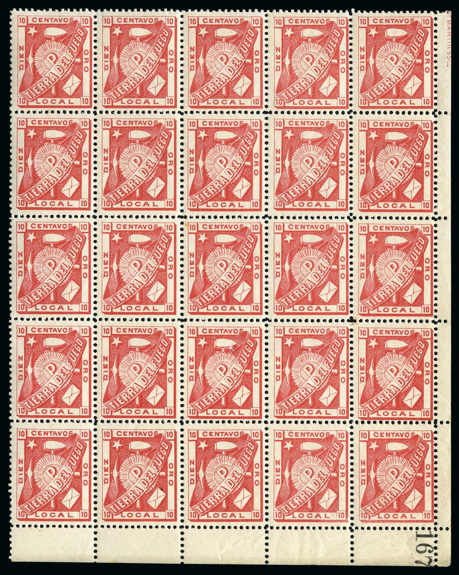 Lot 53012 - Argentina » Tierra del Fuego  -  David Feldman S.A. Overseas & Switzerland | Autumn Auction Series day 5