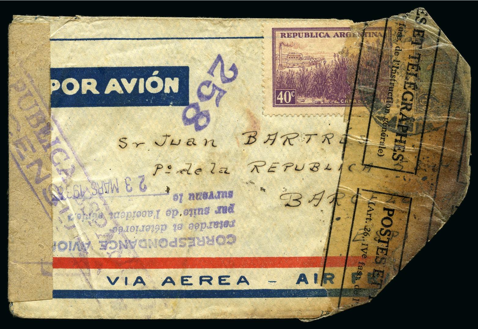 Lot 53013 - Argentina » Collections, Lots etc.  -  David Feldman S.A. Overseas & Switzerland | Autumn Auction Series day 5
