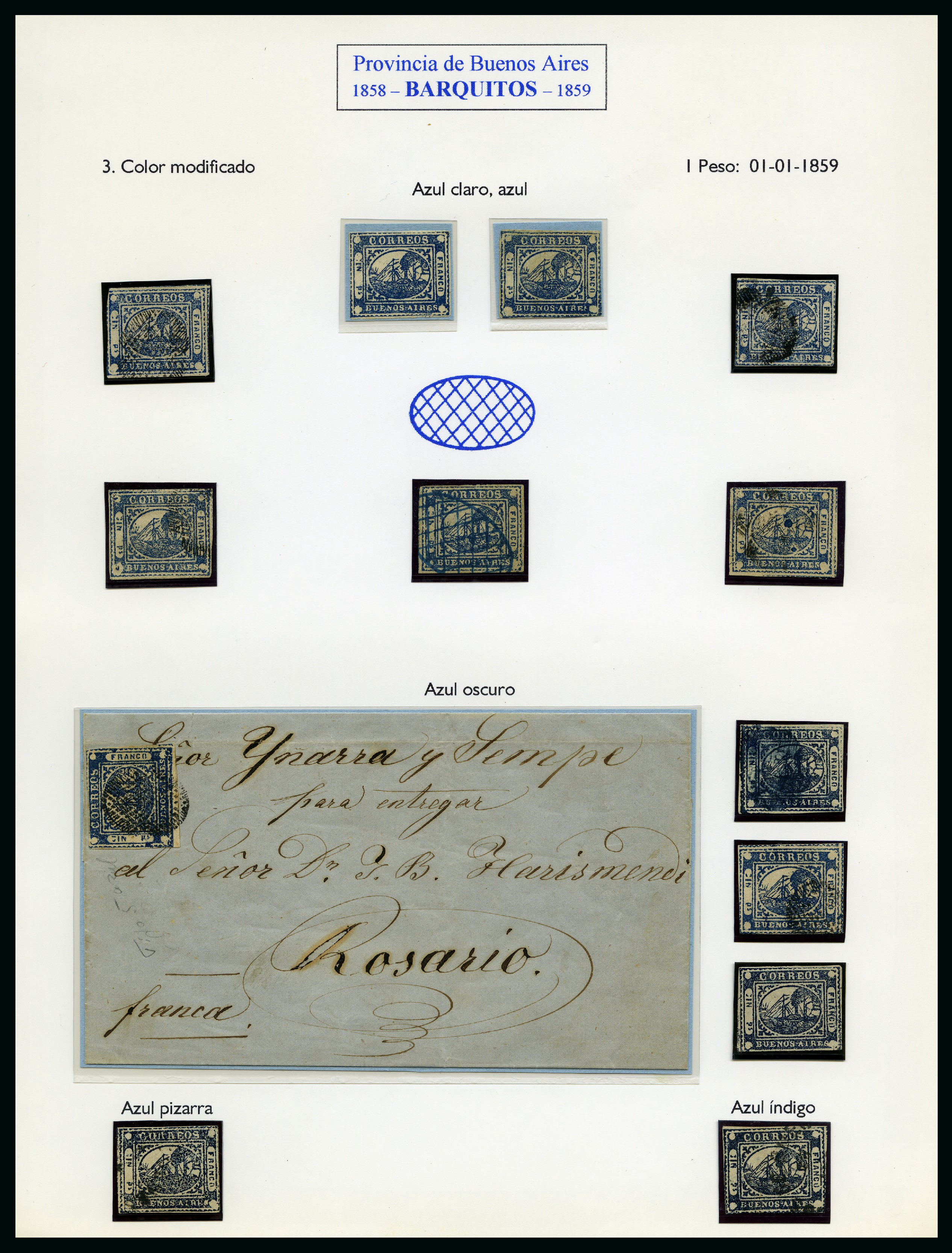 Lot 53006 - Argentina » Buenos Aires » Steamship issue (P1-27)  -  David Feldman S.A. Overseas & Switzerland | Autumn Auction Series day 5