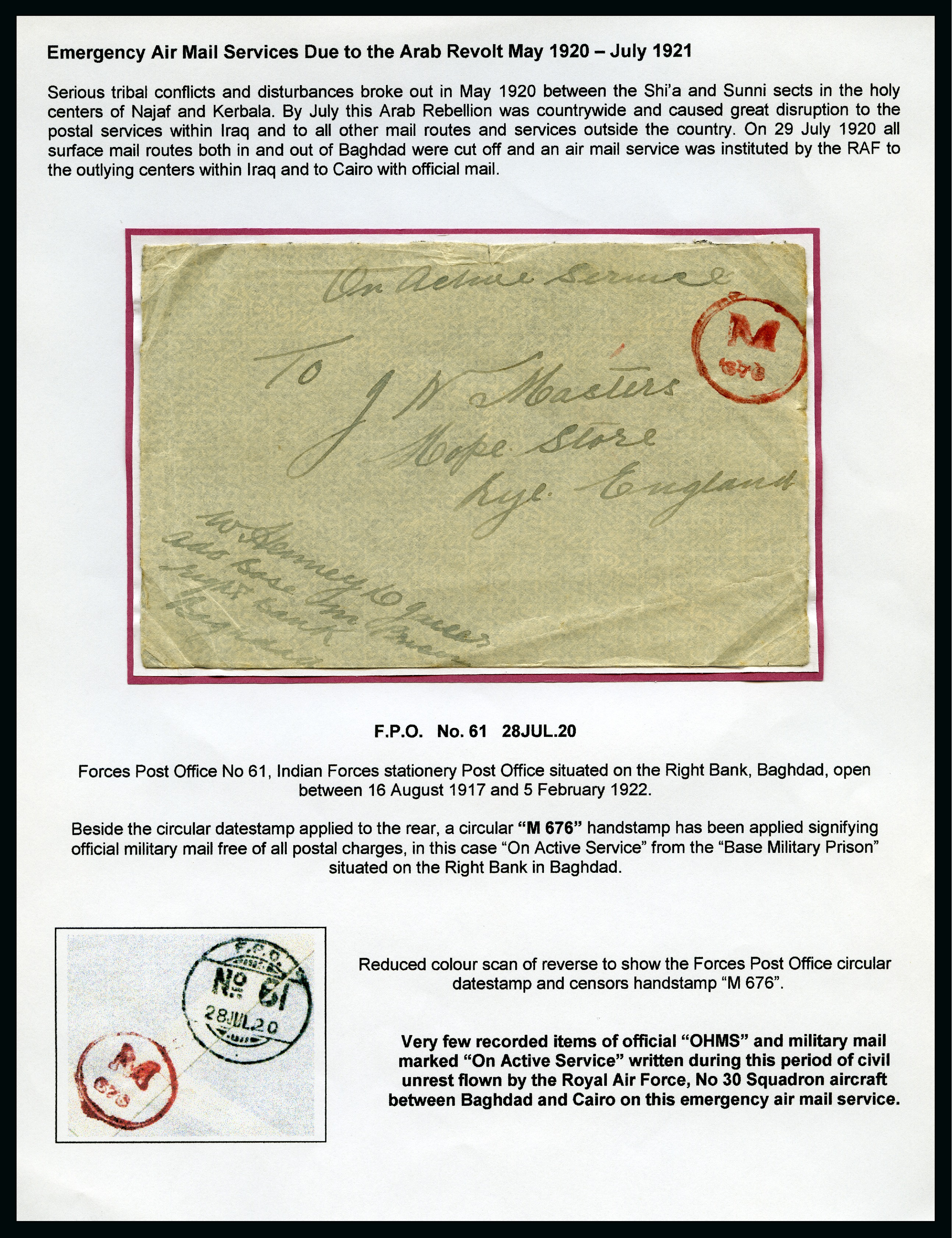 Stamp Auction - Iraq » Collections, Lots etc  - Overseas
